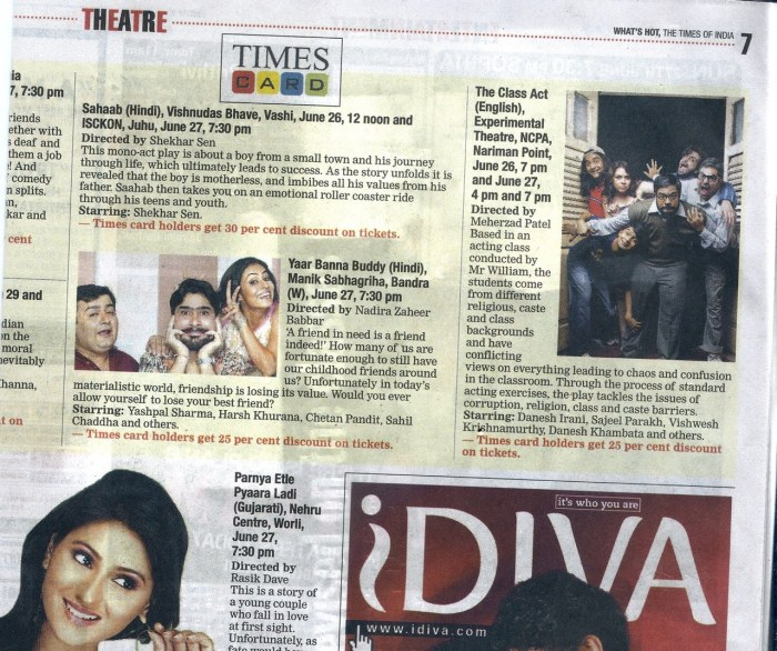 Bombay Times 2010