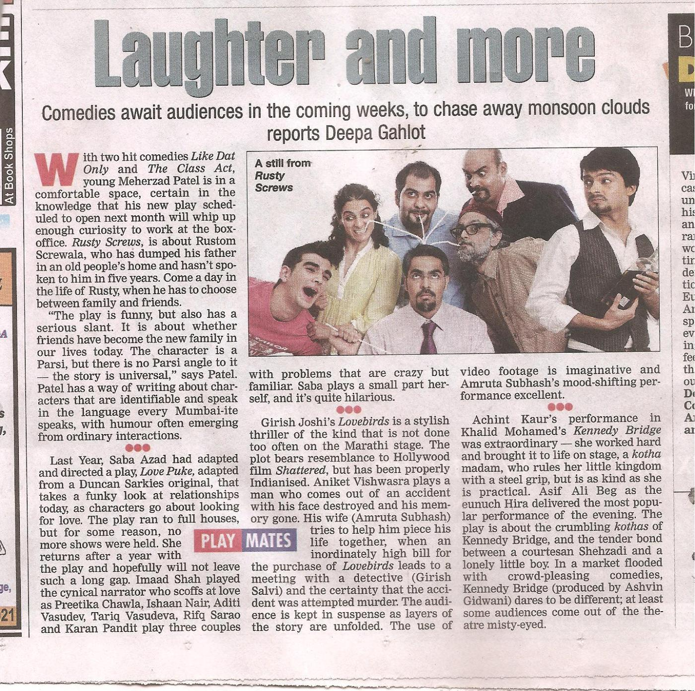 Bombay Times 2011