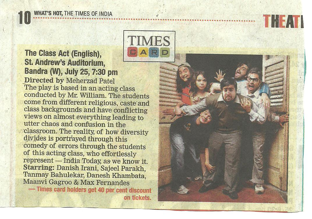 Bombay Times - 25 july 2010