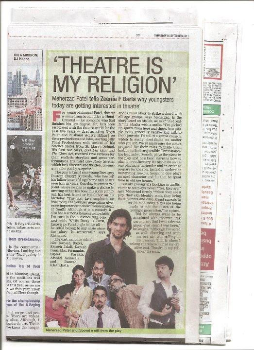Bombay Times - Meherzad Patel