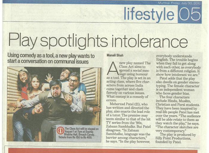 Hindustan Times 2010