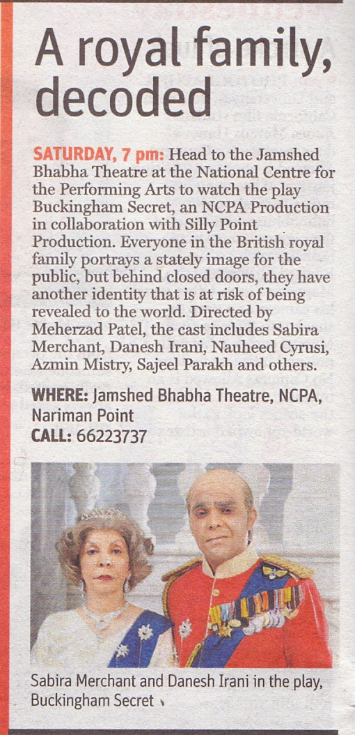 MidDay, Mumbai, 16th November 2014,Pg.34