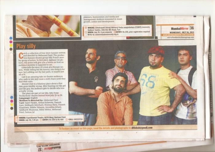 Mumbai Mirror Get Silly 2013